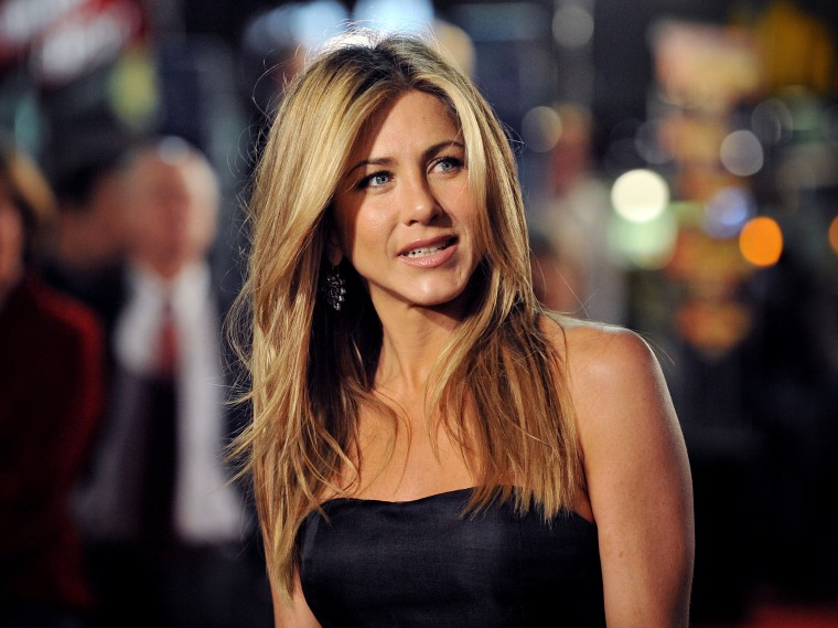 Image: Jennifer Aniston in Los Angeles in 2008.