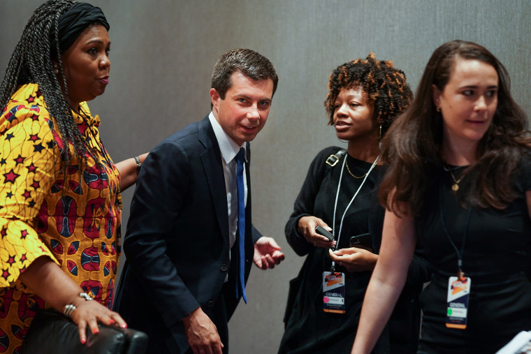 Image: Pete Buttigieg, 2020 Presidential Candidates Speak At The Black Church Conversation Series