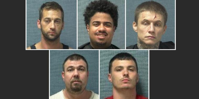 Image: Five escapees