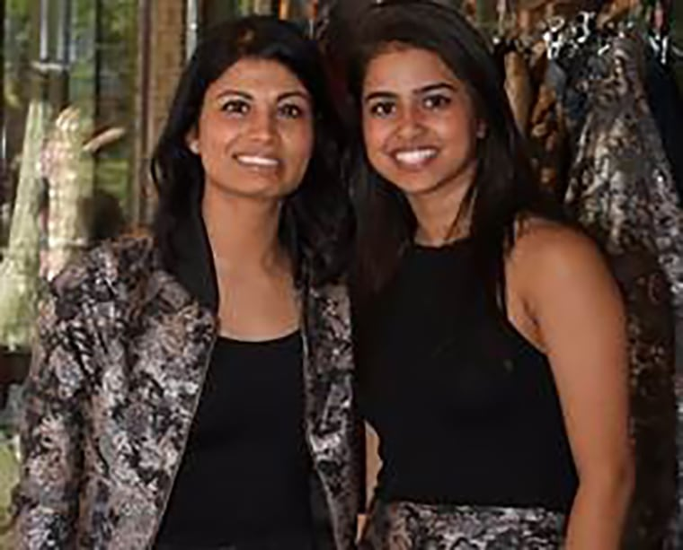 Sani's co-founders, from left, Niki and Ritika Shamdasani.