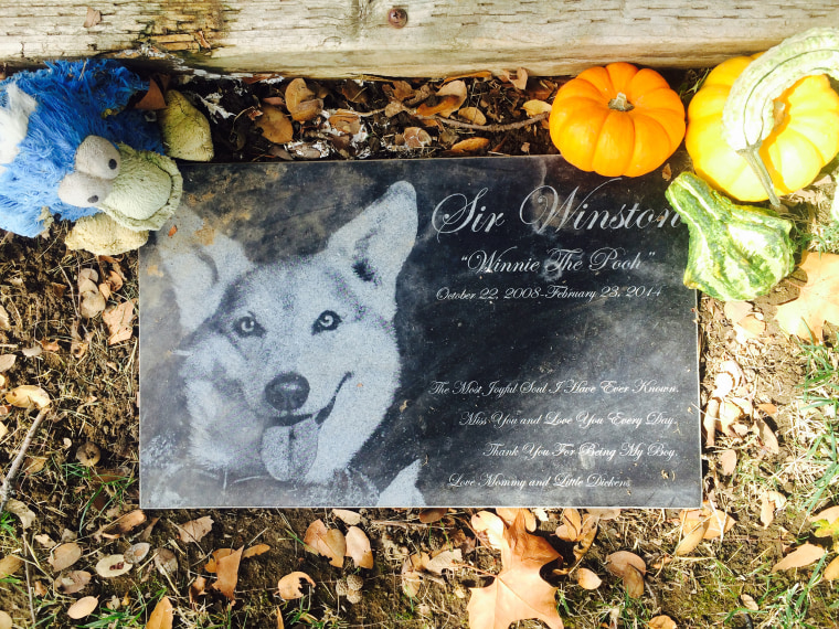 Image: Sir Winston's grave
