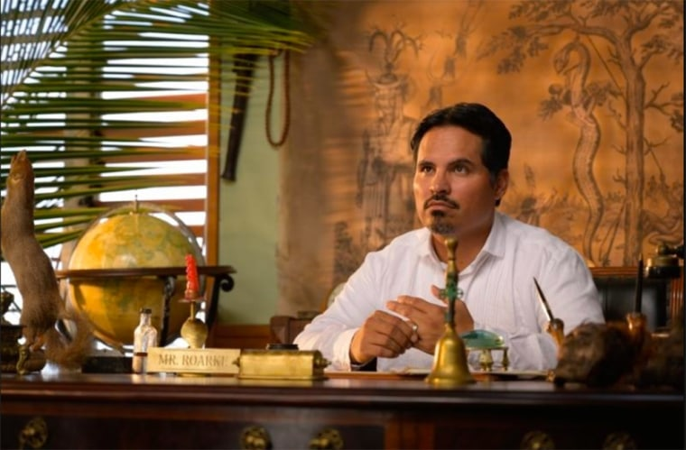 "Image: Actor Michael Pena, who stars in the new ""Fantasy Island"" movie."