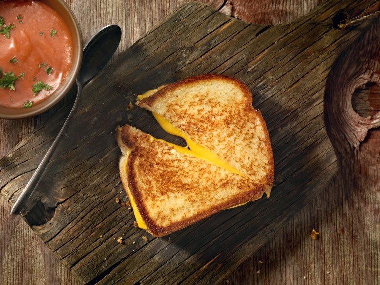 For the ultimate grilled cheese, use both stovetop and oven