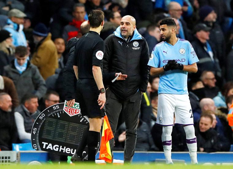 Image: Premier League - Manchester City v Crystal Palace