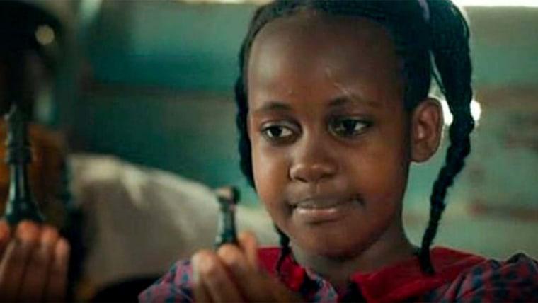"Image: Nikita Pearl Waligwa in Disney's ""Queen of Katwe."""