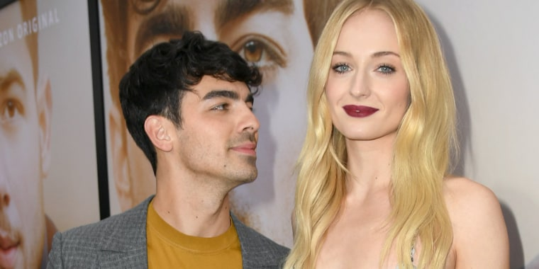 Joe Jonas shared a brief tribute to pregnant wife Sophie Turner in honor of her 24th birthday.