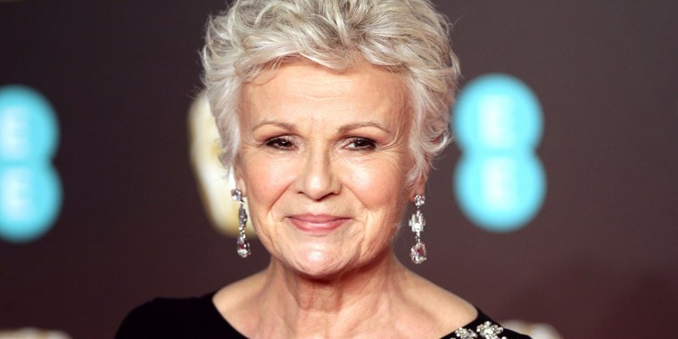 Julie Walters attends the EE British Academy Film Awards held at the Royal Albert Hall in London on Feb. 18, 2018.