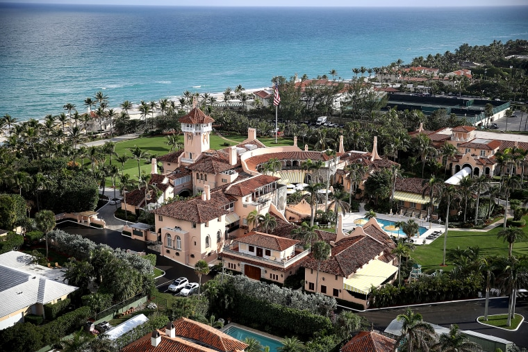 Image: The Mar-a-Lago resort in Palm Beach, Florida, on Jan. 11, 2018.