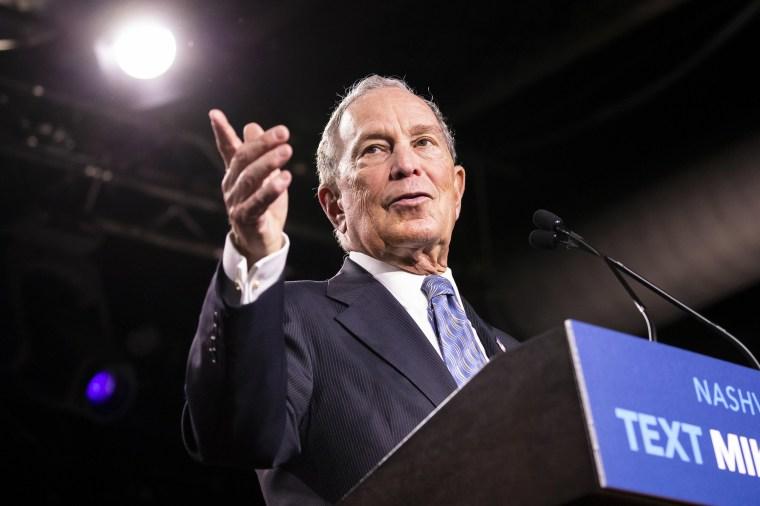 Bloomberg qualifies for next Democratic debate