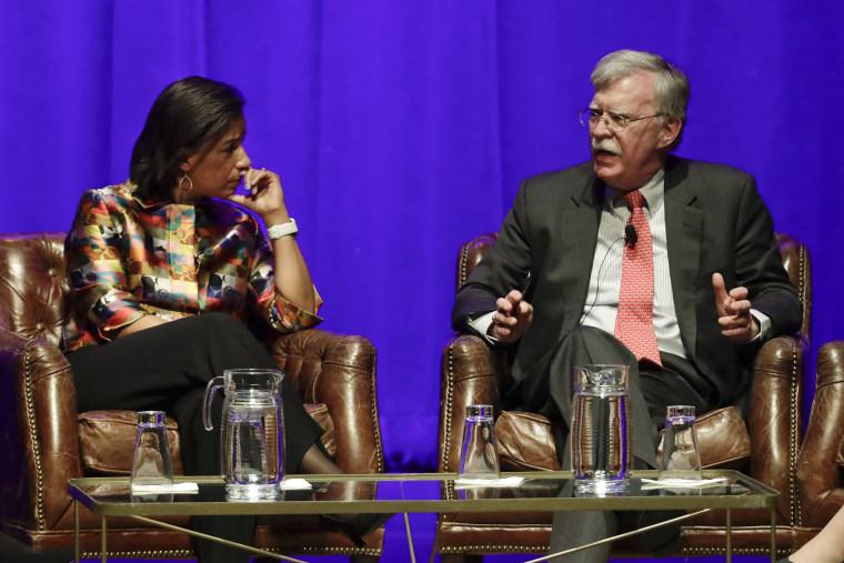 Image: Susan Rice, John Bolton