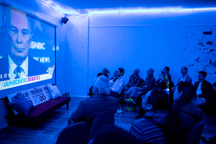 Image: Bloomberg Campaign Office Hosts Debate Watch Party