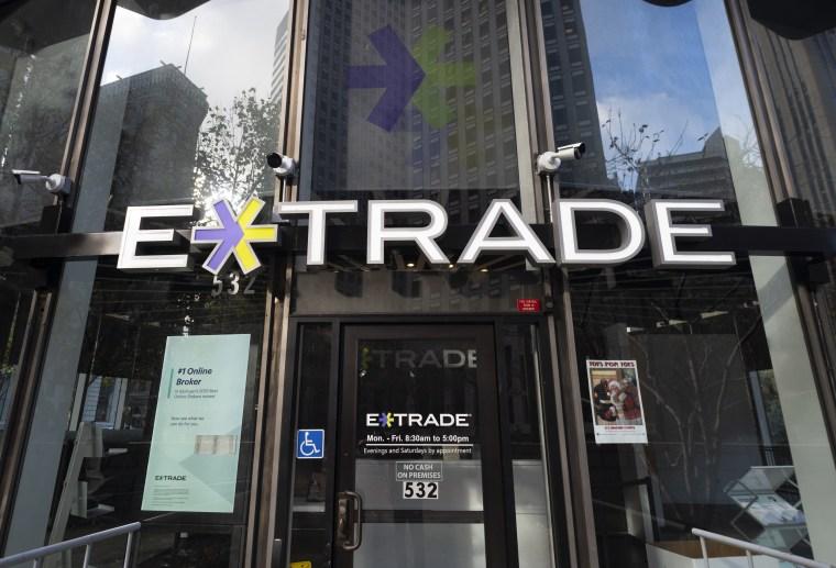 Image: E-Trade