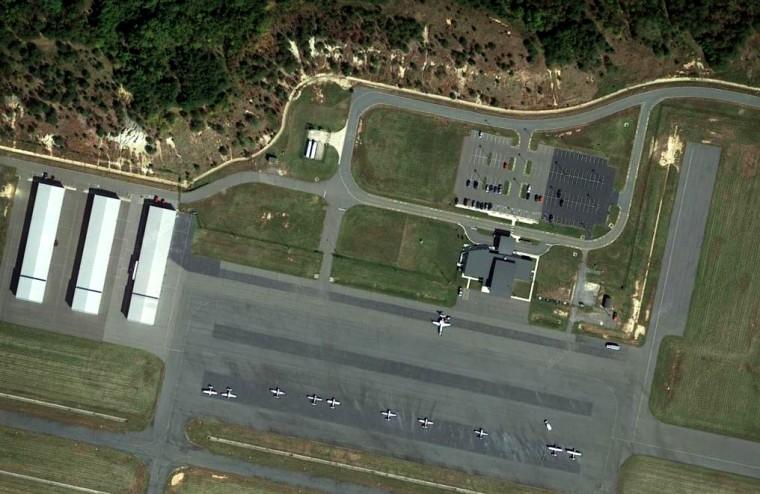 Image: Stafford County Regional Airport in Virginia.