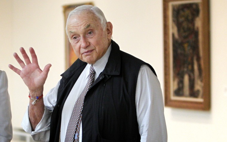 Image: Leslie Wexner at the Wexner Center for the Arts in Columbus, Ohio, in 2014.
