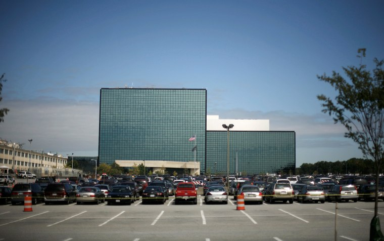 Image: FILE PHOTO: The National Security Agency is seen at Fort Meade in Maryland