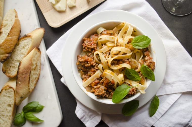 A simple Bolognese sauce is every Italian's favorite use for ground beef, says Giada De Laurentiis.