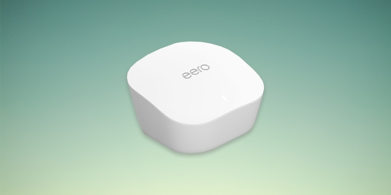 The Amazon Eero mesh Wi-Fi router system is on sale right now.