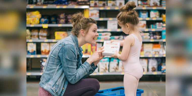 Michele Liddle, founder of The Perfect Granola, and her 5-year-old daughter, Dahlia.