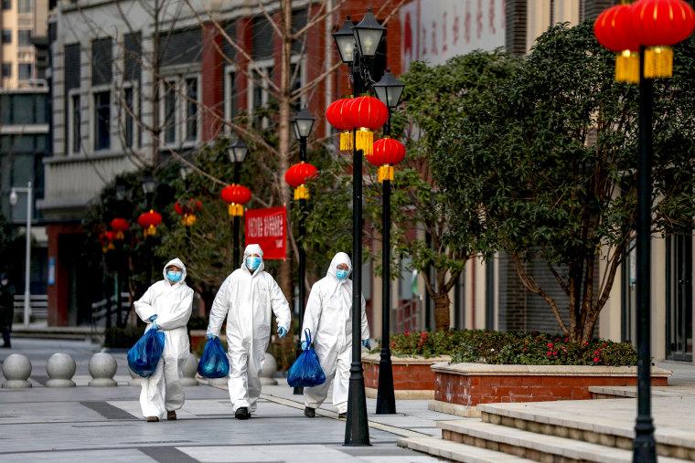 Image: Coronavirus response in Wuhan