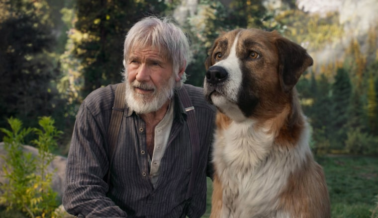 'Call of the Wild' stars Harrison Ford and a good dog named Buck. Jack London would hate it.