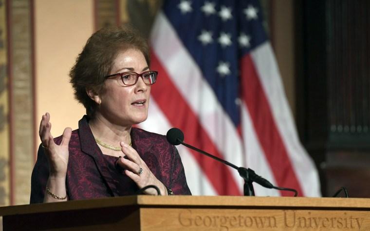 Marie Yovanovitch, key figure in Trump's impeachment, inks book deal