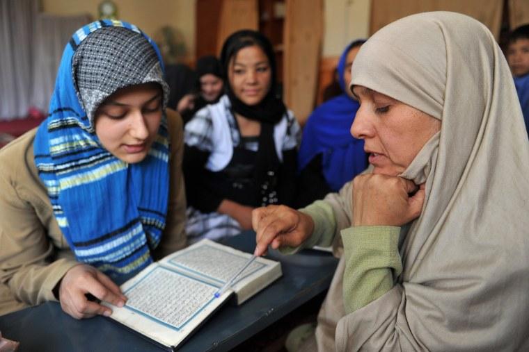 Image: Koran school