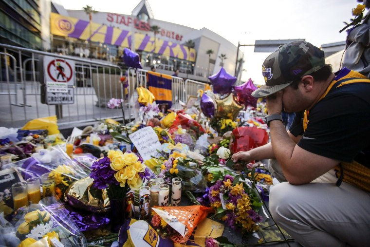Dave Schilling Kobe Bryant's memorial service is my chance to grieve with our family of basketball fans