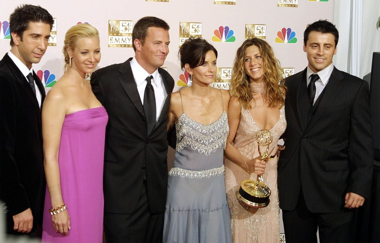 Image: FILES-US-TELEVISION-FRIENDS
