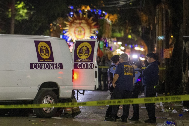 2nd person struck and killed this week by Mardi Gras parade float in New Orleans