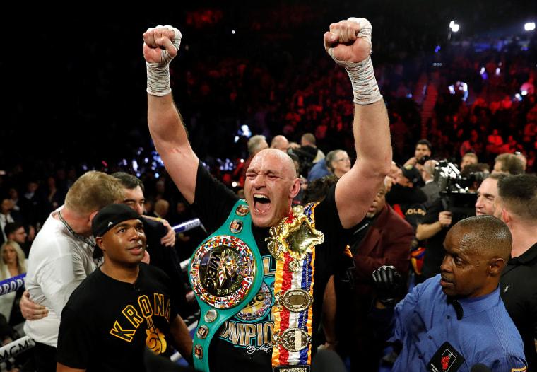 Image: Deontay Wilder v Tyson Fury - WBC Heavyweight Title