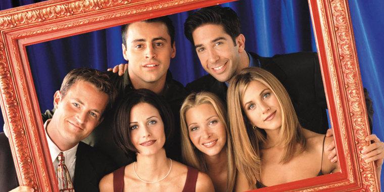 "Image: Cast of ""Friends"""