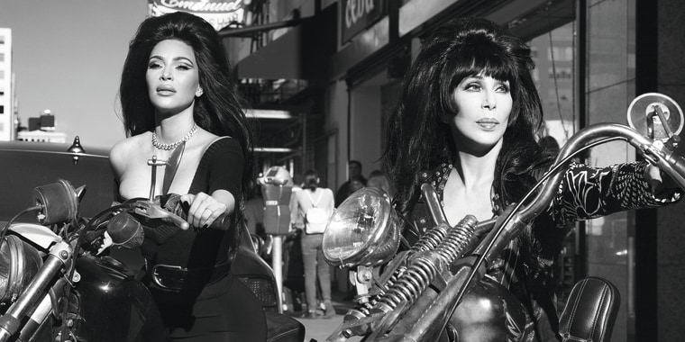 Cher, Kim Kardashian West CR Fashion Book