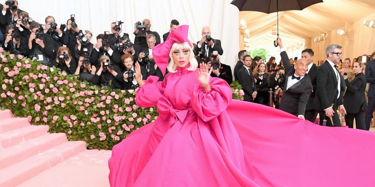 Lady Gaga 2019 Met Gala, Celebrating Camp: Notes on Fashion