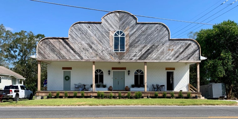 A Louisiana couple turned an old general store into their dream home