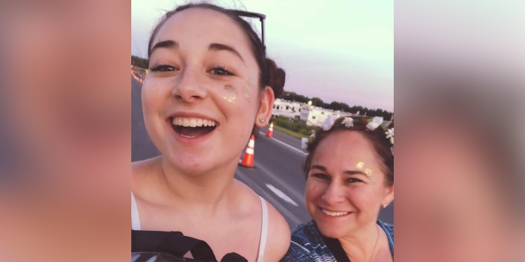 """Becca Lipshultz, left, shares a happy moment with her mom. """"We both feel that it's important to share this (experience) and that there can be a way out,"""" Wendy Lipshultz said."""