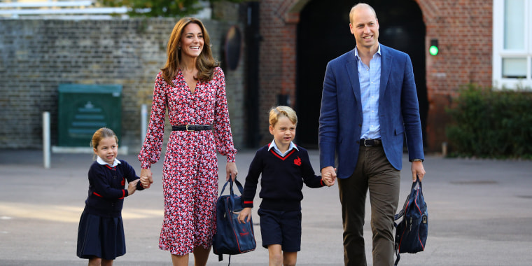 Image: Princess Charlotte's First Day Of School
