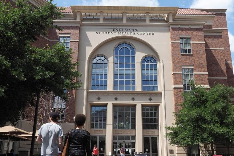 Image: University of Southern California's Engemann Student Health Center
