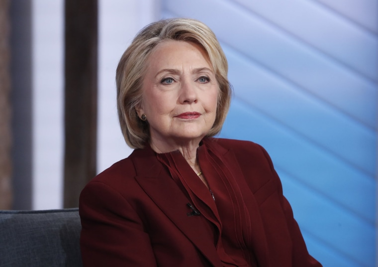 """Image: Hillary Clinton and Chelsea Clinton are guests on """"Good Morning America,"""" Oct. 1, 2019 ."""