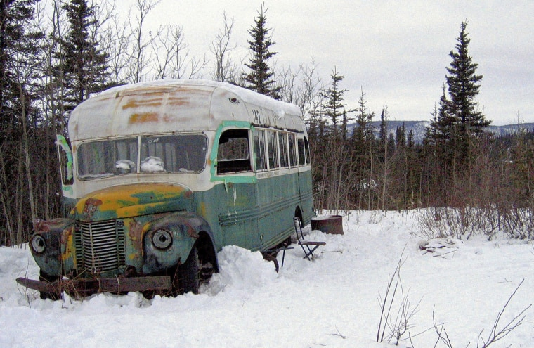 Image: Christopher McCandless bus