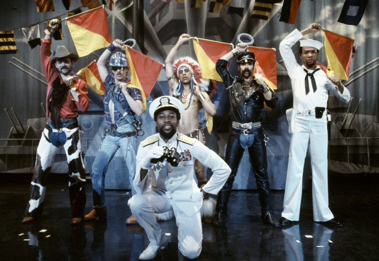 Image: The Village People in New York in 1979.