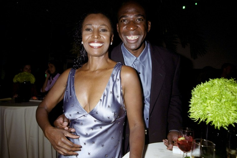 Image: B. Smith and her husband, Dan Gasby, at a party in New York in 1999.