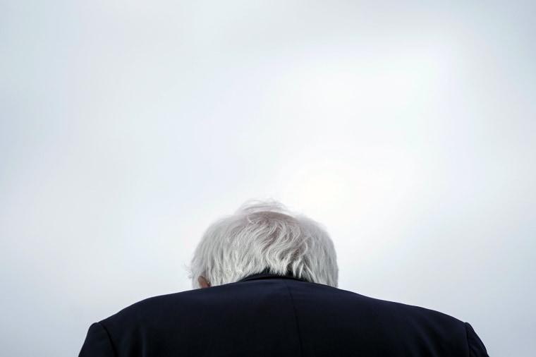 Image: Democratic Presidential Candidate Sen. Bernie Sanders Campaigns In Texas