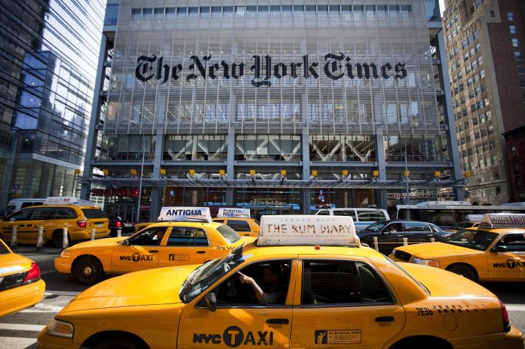 New York Times Co. To Announce Earnings