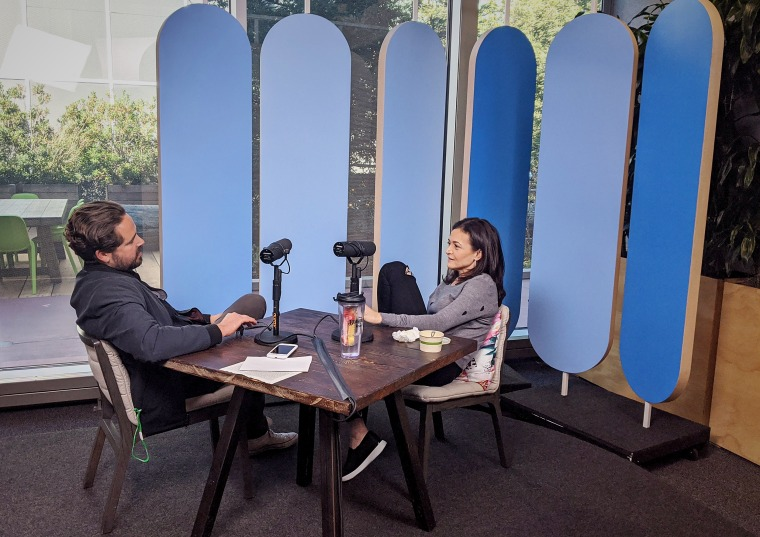 Dylan Byers sits down for an interview with COO of Facebook Sheryl Sandberg.