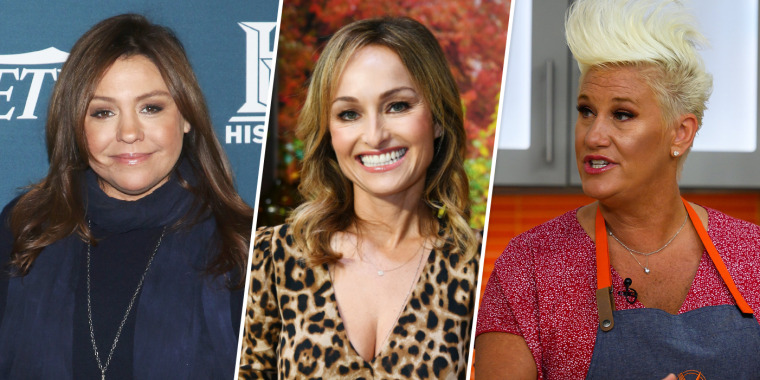 Image: Rachael Ray, Giada de Laurentiis and Anne Burrell.