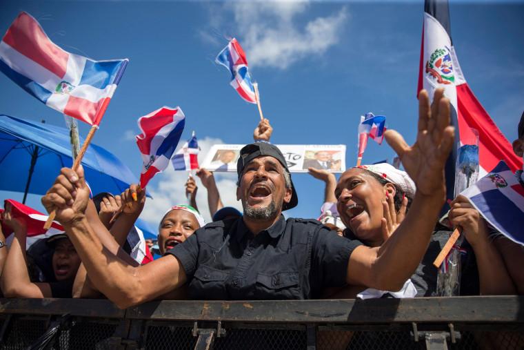Image: DOMINICAN REP-MUNICIPAL-ELECTION-SUSPENSION-PROTEST