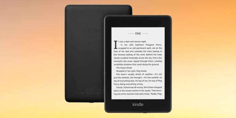 The Amazon Kindle Paperwhite.