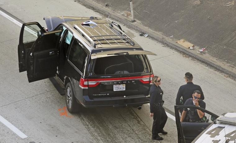 Image: Stolen hearse