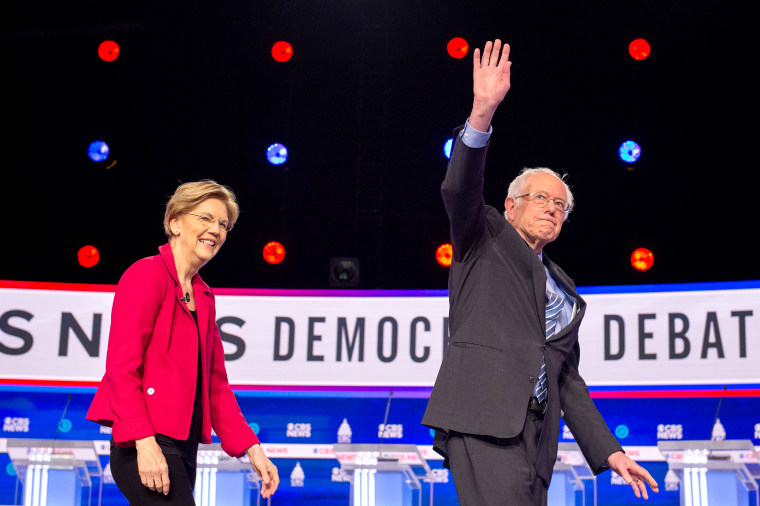 Candidates Attend The Tenth 2020 Democratic Presidential Debate