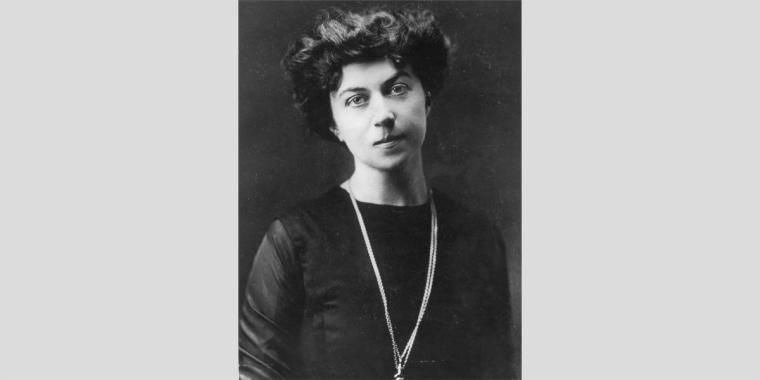 Image: Alexandra kollontai, russian revolutionary, social theorist and stateswoman (1872-1952), kollontai in 1910